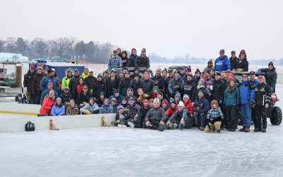 'Perfect' ice for the North American Pond Hockey Championship